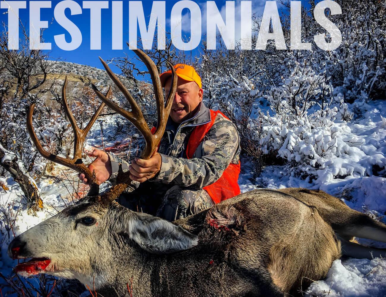 Colorado Hunts - Trophy Elk - Trophy Mule Deer - Antelope